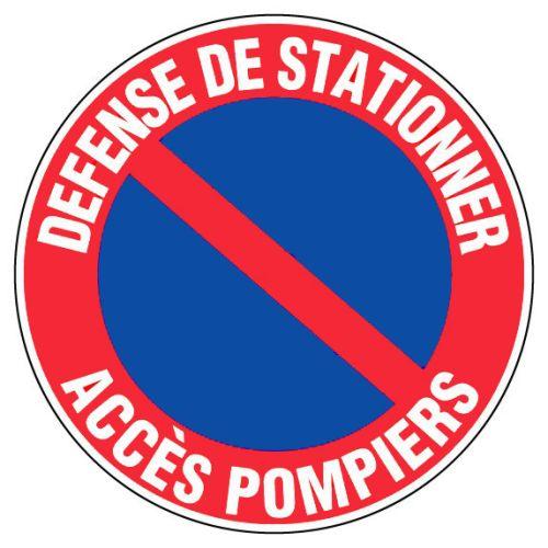 Panneaux d'interdictions Novap ronds photo du produit Principale L