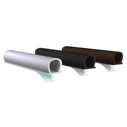 Joint de calfeutrage adhésif noir 7.5m - ELLEN - 1000027 pas cher