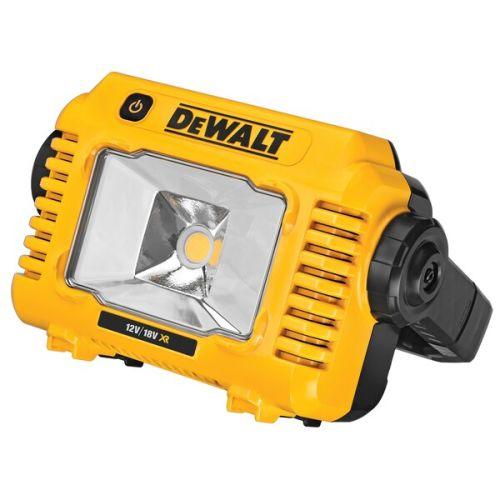 Projecteur de chantier compact XR 18V/12 V (machine seule) - DEWALT - DCL077 pas cher
