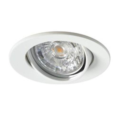 Kit spot LED 230V GU10 6W orientable 3000K IP23 blanc - SYLVANIA - 3001770 pas cher Secondaire 1 L