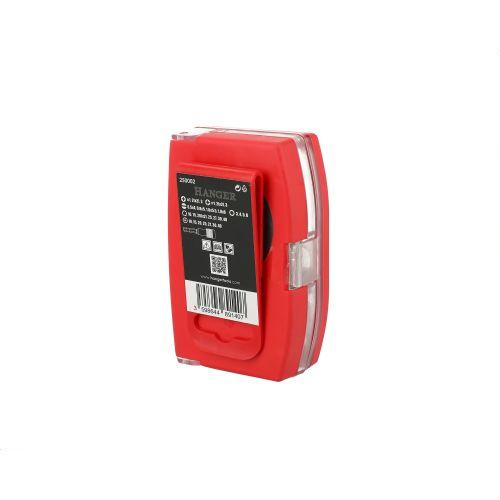Coffret d'embouts couleurs de 32 pièces - HANGER - 250002 pas cher Secondaire 5 L