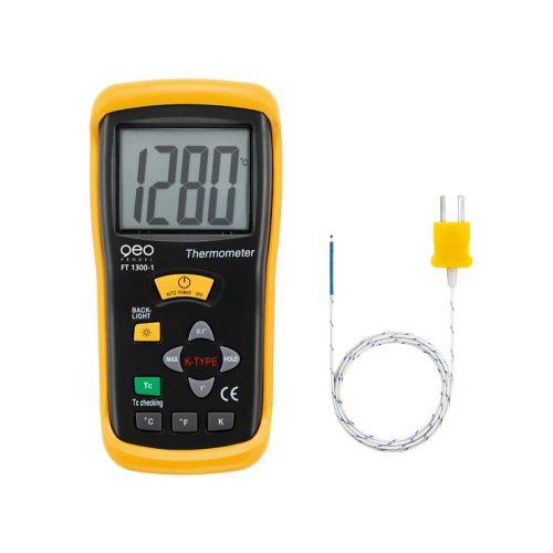 Thermomètre de type K à 1 canal Geo Fennel FT 1300-1 photo du produit Principale L