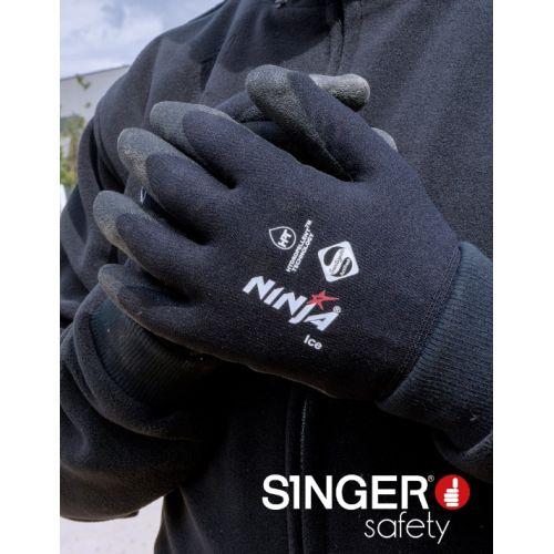 Gants de protection hiver Singer Ninja® Ice N100 photo du produit Secondaire 1 L