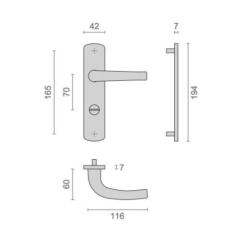 Ensemble sur plaques aluminium Héraclès Salomé Home petites plaques - EA70 photo du produit Secondaire 16 L