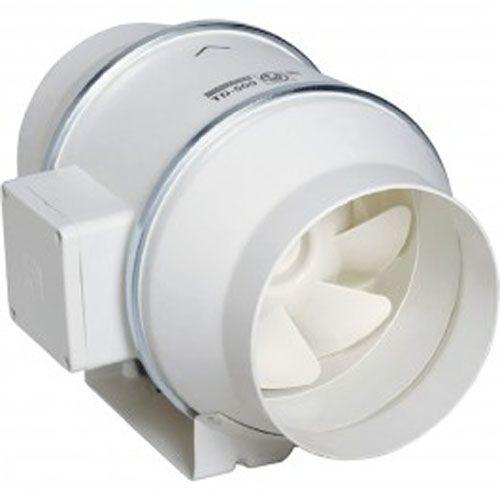 Ventilateur de conduit silencieux 2 vitesses TD 60/100 N SILENT- UNELVENT - 250454 pas cher Principale L