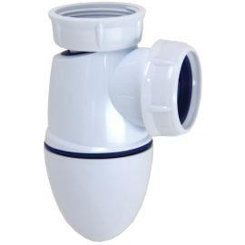 Siphon d'évier grand culot PVC Nicoll photo du produit