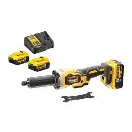 Meuleuse droite sans-fil Dewalt DCG426P2-QW XR 18 V + 2 batteries 5 Ah + chargeur pas cher Principale M