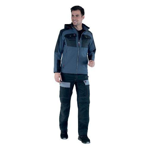 Pantalon de travail homme RULER WORK ATTITUDE noir T0 - LAFONT - LA-1ATTUP-6-2988-0 pas cher Secondaire 2 L