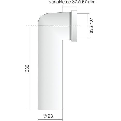 Pipes coudées et accessoires REGIPLAST photo du produit Secondaire 5 L