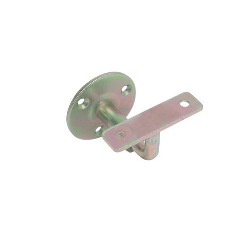 Support de rampe à visser coudé fixe tige de 10mm - TORBEL - J529870 pas cher Principale L