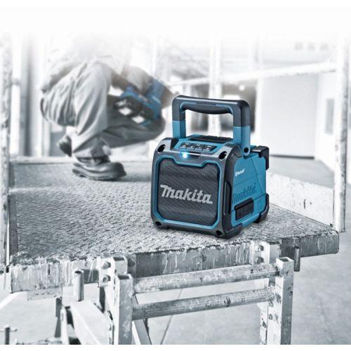 Radio bluetooth 18V double alimentation (machine seule) en boite carton - MAKITA - DMR200 pas cher Secondaire 5 L