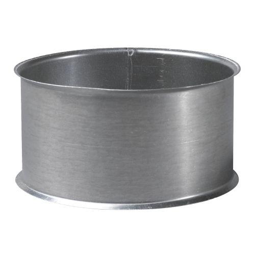 Manchette a sceller galvanisé Ø 97 mm - TOLERIE GENERALE - 147970 pas cher Principale L
