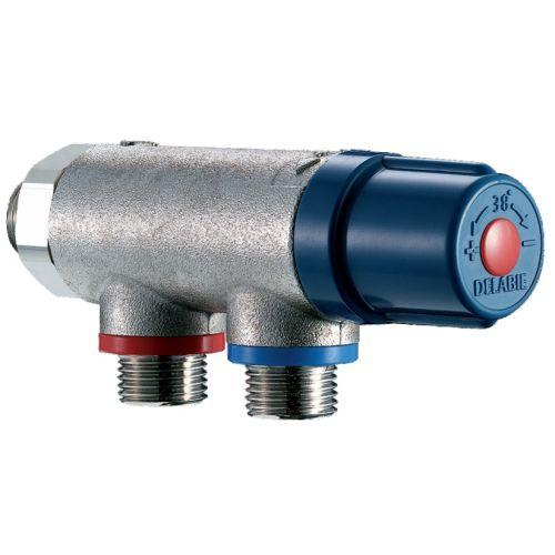 Mitigeur thermostatique centralisé DELABIE Premix Compact photo du produit