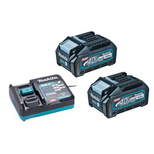 Meuleuse 40 V XGT 125 mm (machine complète) avec 2 batteries 4 Ah en coffret MAKPAC - MAKITA - GA023GM201 pas cher Secondaire 2 L