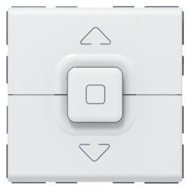 Interrupteur de volets roulants 500W maximum Mosaic 2 modules - blanc LEGRAND photo du produit Principale M