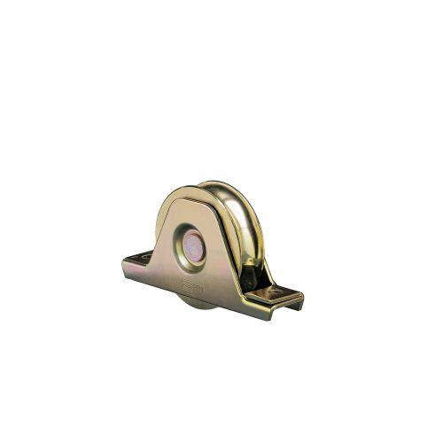 Roue 1 roulement à platine interne gorge 100 ronde charge de 200kg - COMUNELLO - 337-100S pas cher Secondaire 1 L