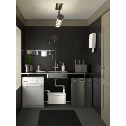 Pompe de relevage sanitaire Watermatic VD120 photo du produit Secondaire 3 L