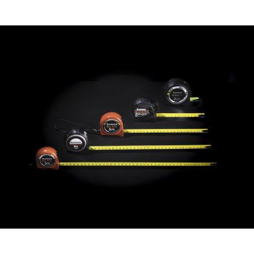 Mètre ruban rubber pro 8 m x 27 mm - HANGER - 100051 pas cher Secondaire 25 L