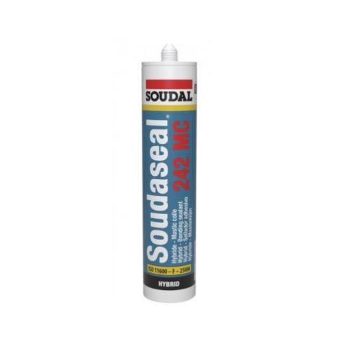 Mastic colle Soudaseal 242 MC blanc 290 ml - SOUDAL - 131185 pas cher Secondaire 1 L