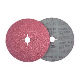 Disque abrasif support fibre 3M™ Cubitron™ II 982C photo du produit Principale M