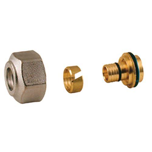 Raccord à compression tube PER 18 20/16 pour collecteur - GIACOMINI - R179X091 pas cher Principale L