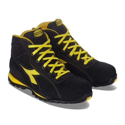 Chaussures de sécurité hautes GLOVE S3 SRA HRO pointure 39 - DIADORA - 701.170234 pas cher