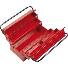Boîte à outils métallique 5 cases Sam Outillage 605 photo du produit Principale M