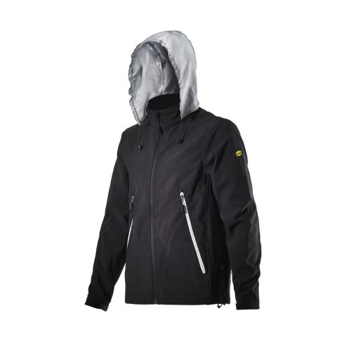 Veste ALPINE II SOFTSHELL noir DIADORA photo du produit