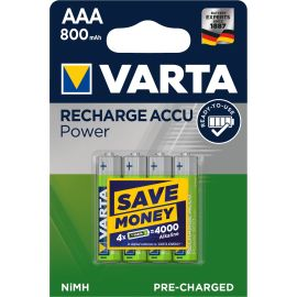 Accus rechargeable Ni-MH Varta Power pas cher