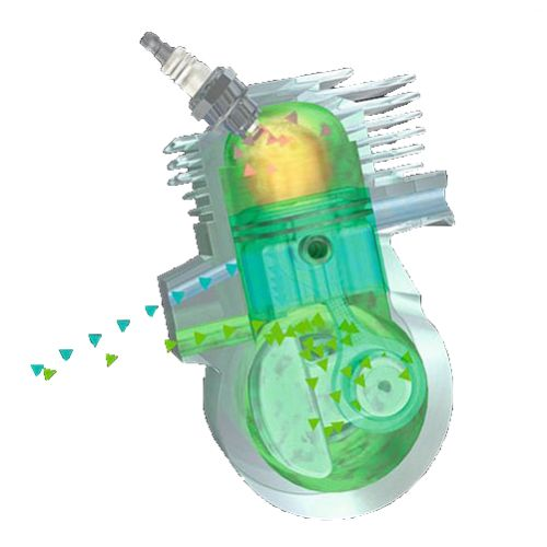 Tronçonneuse thermique à injection MS 500i 63cm - STIHL - 1147-200-0001 pas cher Secondaire 7 L