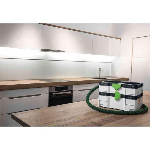 Aspirateur CLEANTEC CTL SYS 1000 W en boîte carton - FESTOOL - 575279 pas cher Secondaire 4 L