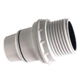 Douille E14 lisse BAK blanche photo du produit Principale M