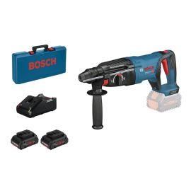 Perforateur SDS+ sans-fil Bosch GBH 18V-26 D 18 V + 2 batteries 4 Ah + chargeur pas cher Principale M