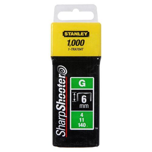 5000 agrafes 6 mm type G - STANLEY - 1-TRA704-5T pas cher Secondaire 1 L