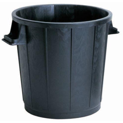 Poubelle à gravats en polyéthylène noir 75 L - VINMER - PB75 pas cher Principale L