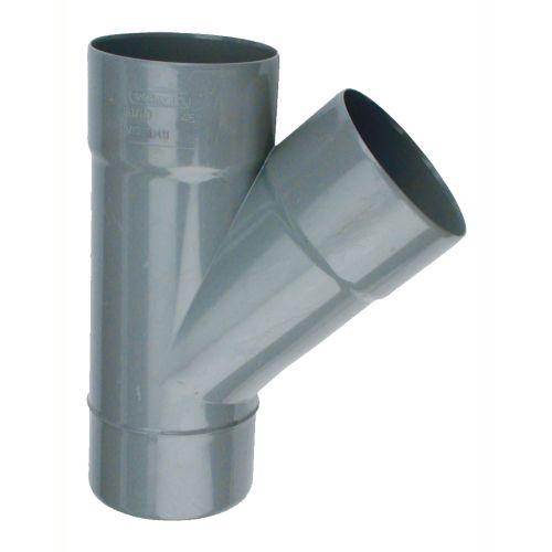 Culotte PVC mâle-femelle 45° Ø40 - WAVIN - 3026019 pas cher