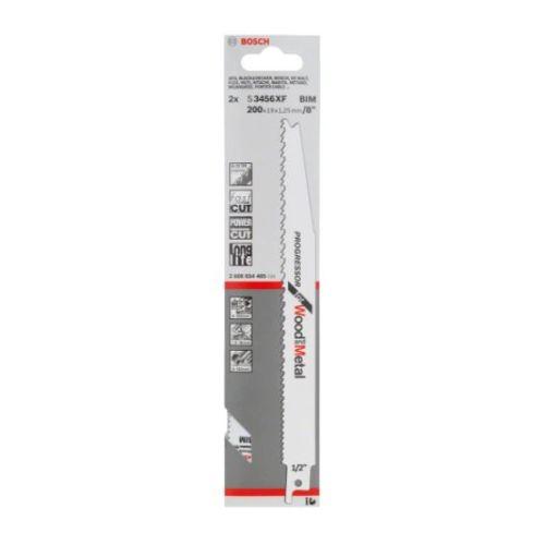 25 lames de scie sabre 200 mm S 3456 XF bois et métal - BOSCH - 2608657938 pas cher Secondaire 1 L