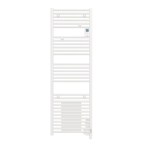 Radiateur sèche-serviettes Doris digital sans ventilo étroit 0300W blanc - ATLANTIC -851134 pas cher