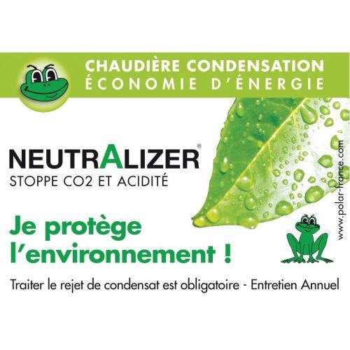 Neutraliseur de condensation gaz 32 Kw maxi - POLAR - NEUTR15GAZ pas cher Secondaire 1 L