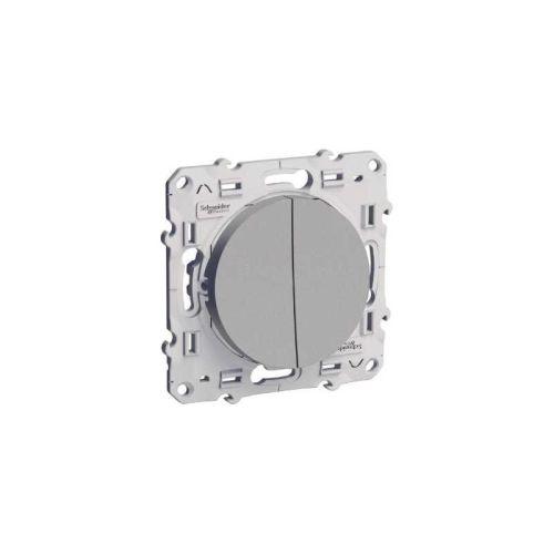 Interrupteurs et poussoirs alu photo du produit
