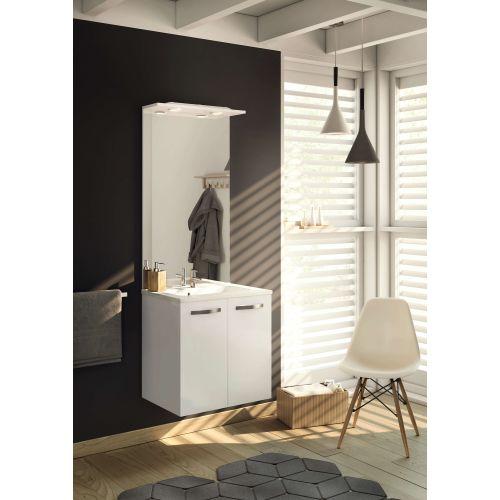 Bandeau lumineux LED salle de bain L60 IP44 ANGELO - NEOVA - A2311379 pas cher Secondaire 2 L