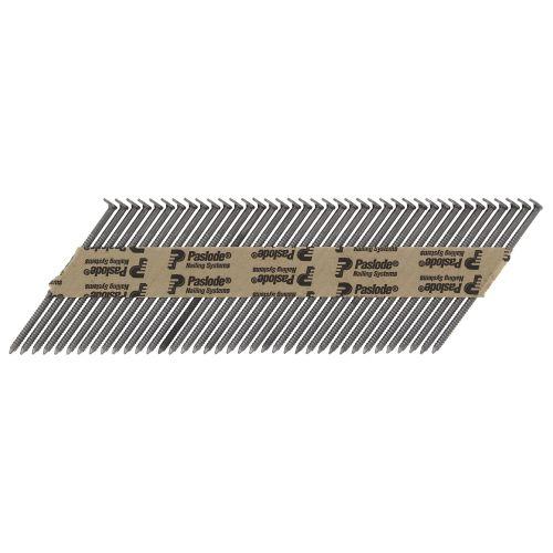 3750 clous crantés 2,8 x 63 mm pour le bois IM90Ci - PASLODE - 142011 pas cher