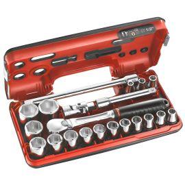 Coffret Dbox douilles 1/2'' 6 pans métriques Facom SL.DBOX1 pas cher Principale M