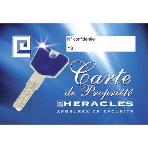 Clé HERACLES Y8 sur numéro photo du produit Secondaire 1 L