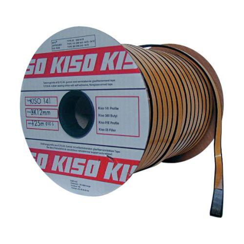 Rouleau de joints Kiso 141 2x8 noir 225ml - KISO - 141-2X8-N pas cher Secondaire 1 L