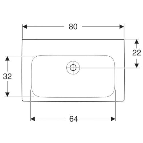Ensemble meuble salle de bain avec vasque céramique blanc photo du produit Secondaire 6 L