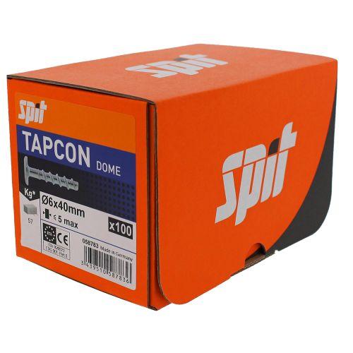 Boîte de 100 vis béton Tapcon DOME à tête bombée large photo du produit Secondaire 5 L