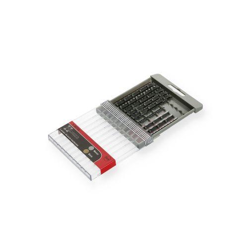 Jeu de 10 lames pour scie sauteuse (T-SET55) - HANGER - 150290 pas cher Secondaire 2 L