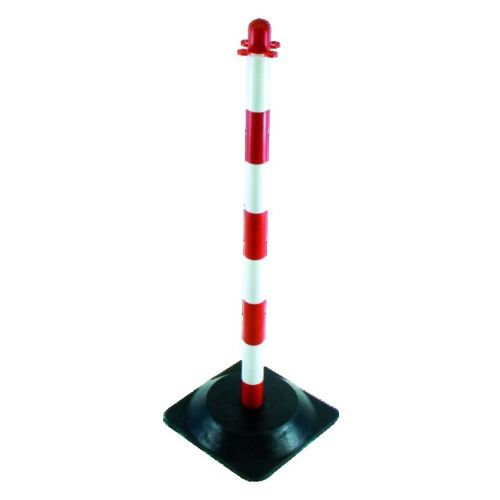 Poteau de support Taliaplast rouge/blanc photo du produit