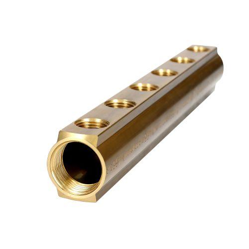 Collecteur R551 6 Départs 1'1/4-1/2 - GIACOMINI - R551Y086 pas cher Secondaire 10 L